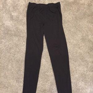 Basic Black Xhilaration Leggings